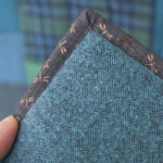 camp blanket stitching