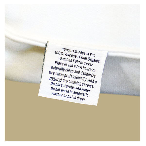 malpaca pillow fabrication tab