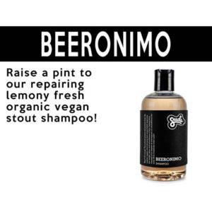 beeronimo vegan shampoo