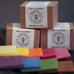 Beeswax Modeling Clay boxes