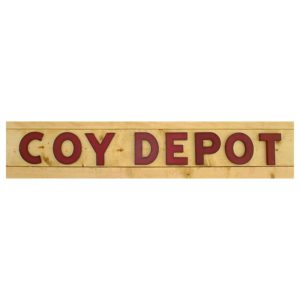 coy depot clothing logo