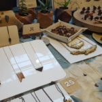 Rong Designs wood accent jewelry