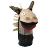 cate and levi horse hand puppet