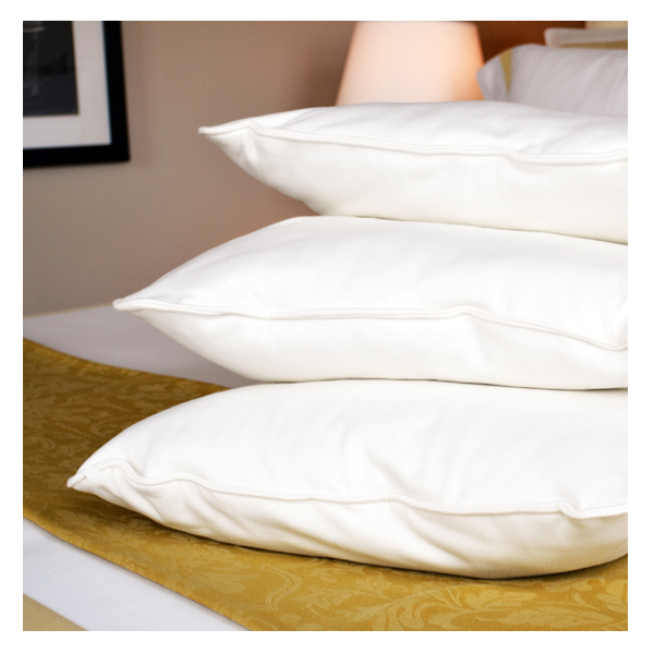 malpaca pillows stacked