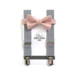 Littlest Gentleman suspenders and bow tie