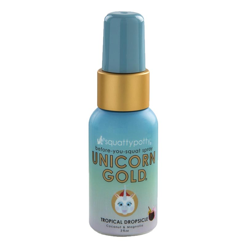 Unicorn Gold spray bottle 2oz size
