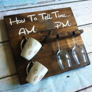 Auburn Sapling Designs how to tell time holder