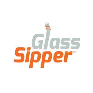 Glass Sipper reusable glass straw logo