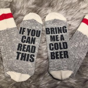 Etch Artistries Beer Socks