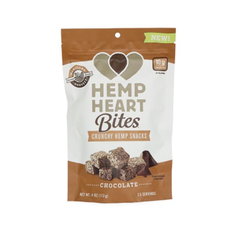 Hemp heart bites chocolate flavour