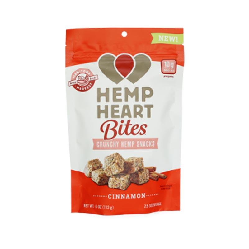 Hemp heart bites cinnamon flavour