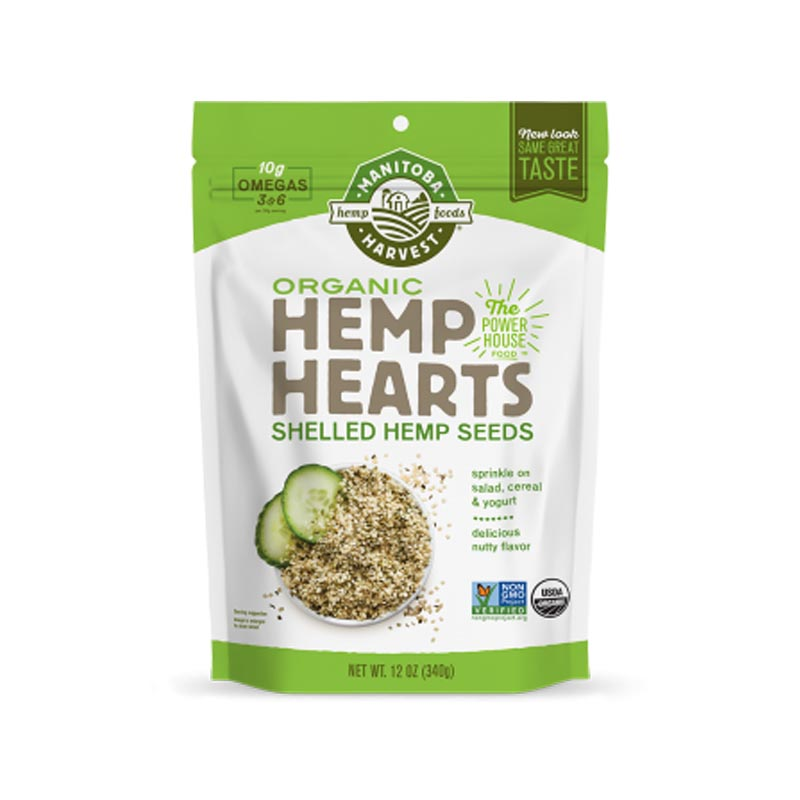 Organic Hemp Hearts from Manitoba Harvest