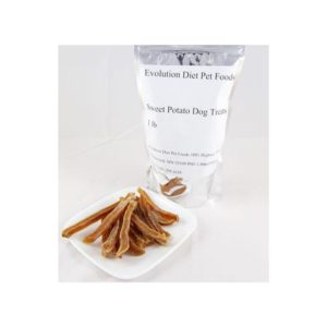 Sweet potato dog treats - strips