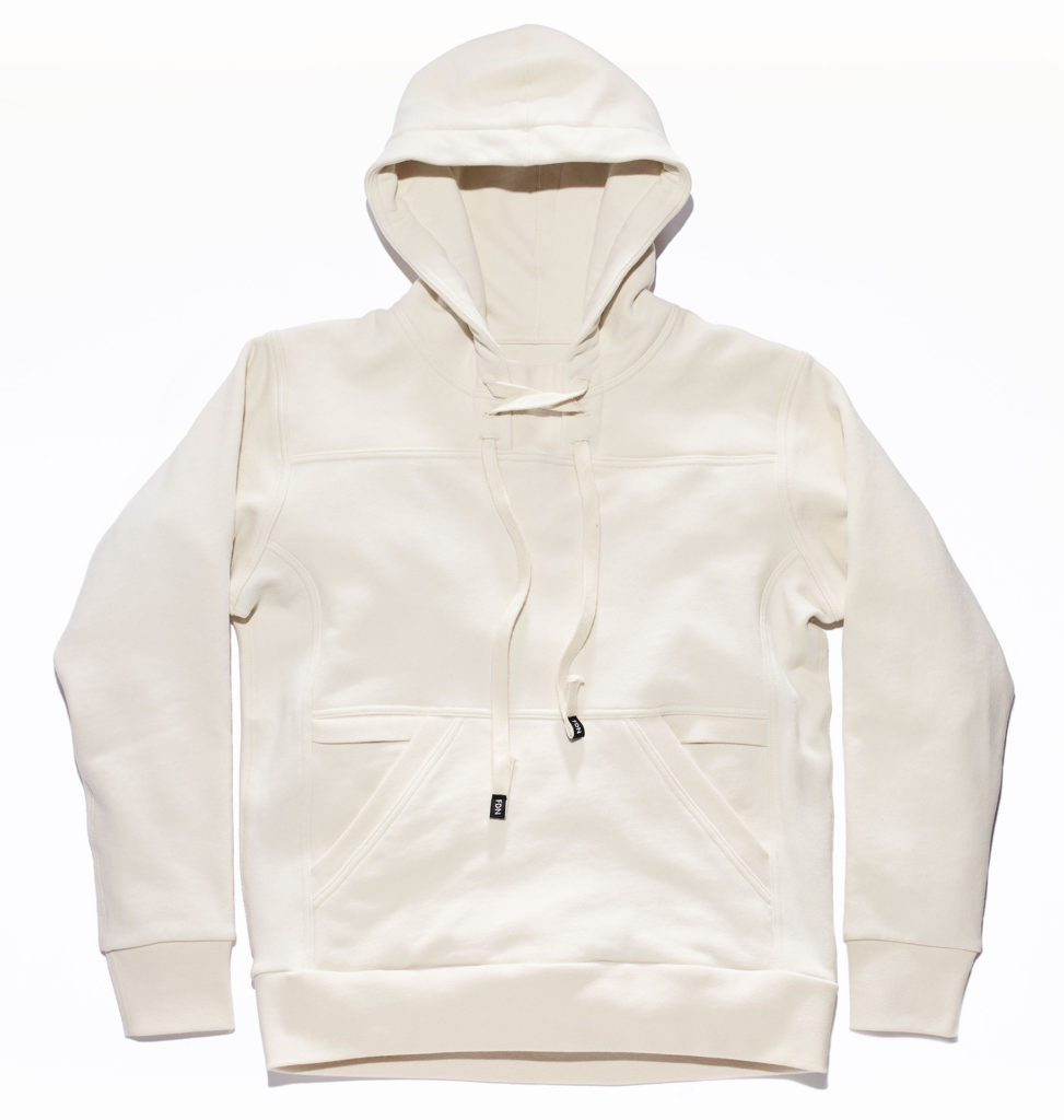 FDN Pullover Hoodie in White