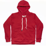 FDN Pullover Hoodie in Red
