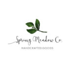 Spring Meadow Co. handcrafted goods logo