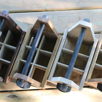 Overhead view drink caddy 6 pack