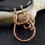 copper crochet arthritis ring