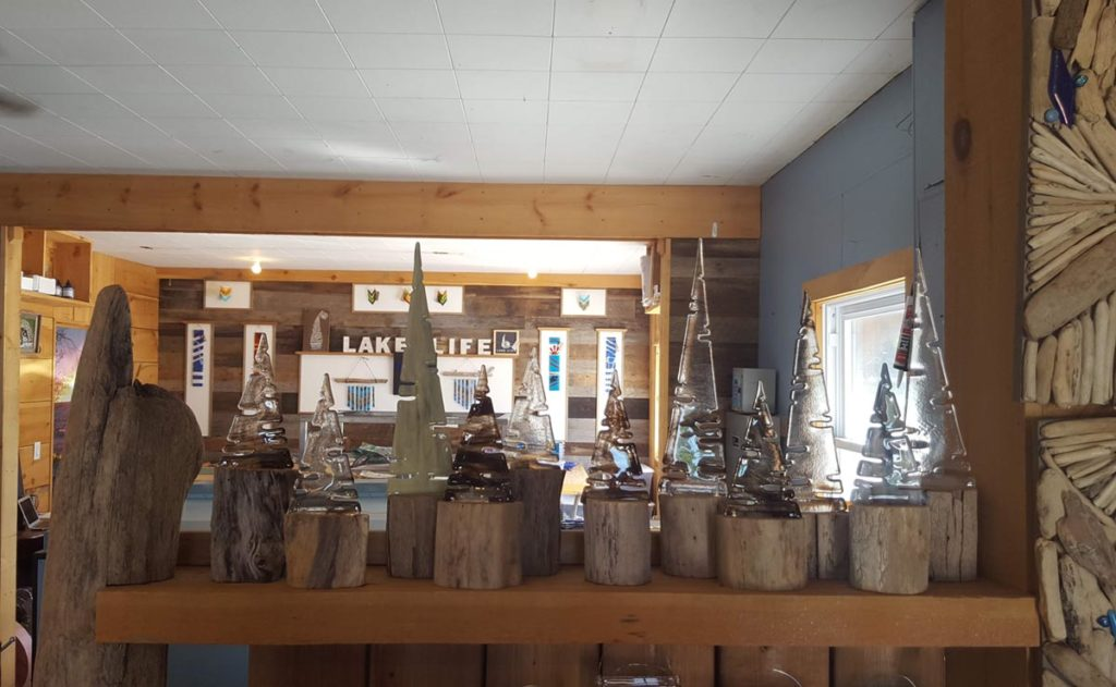 Lake Life Studio glass workshop